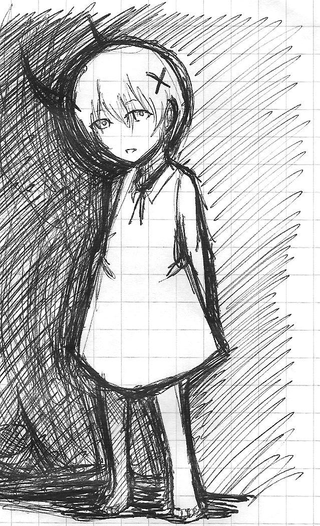 Little Girl Sketch By Fusherin On DeviantArt