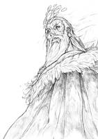 ''Warrior'' project sketch.. by NestorPriest