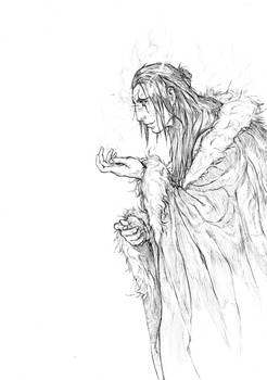 ''Warrior'' project sketch...
