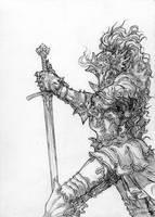 Knight by NestorPriest