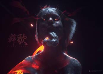 Demon Drugs by AntoineCollignon