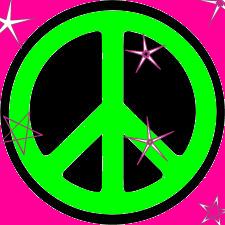 Neon Peace by Ellaona