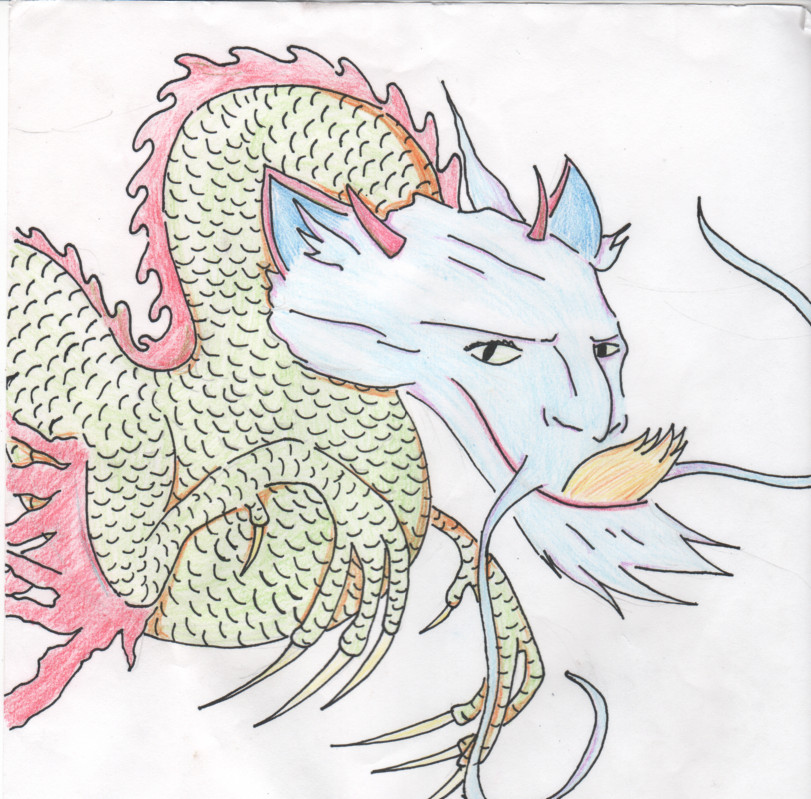 Dragon, The Magic Paintbrush by chibiholly on DeviantArt
