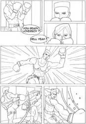 A Tallion Comics - Page 1 by trucbiduleBond