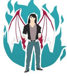 Human/Dragon hybrid by trucbiduleBond
