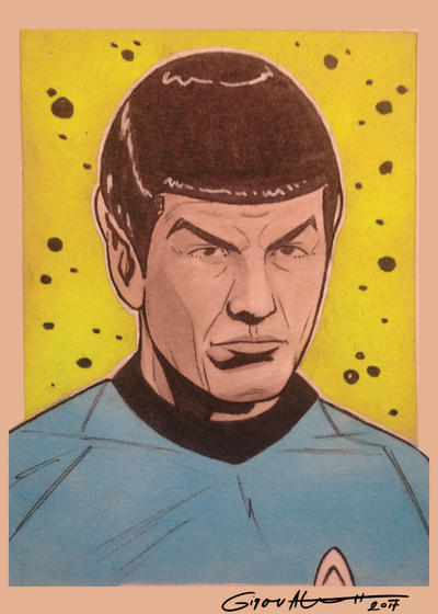 Spock by shinigamizachi