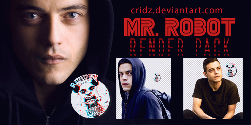 Mr Robot Render Pack by CriDz