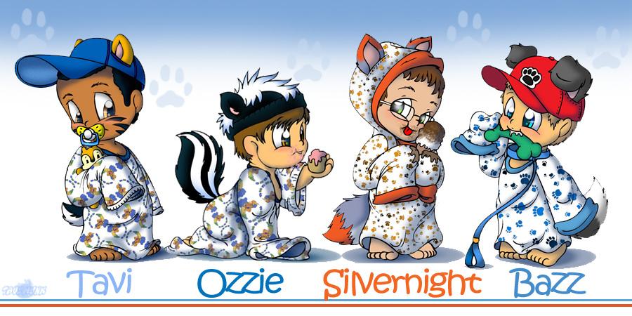 Nightshirt Cubs by Tavi-Munk