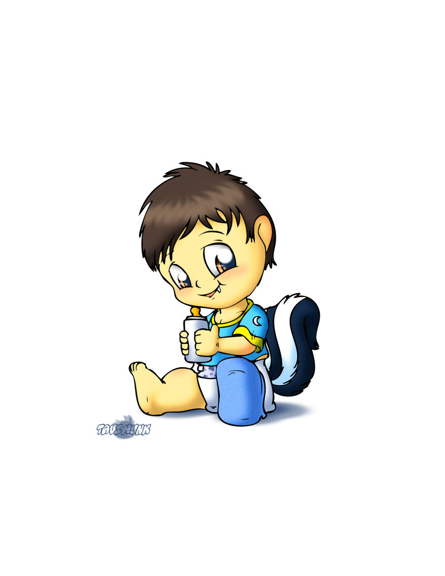 Ozzie Half Skunk by Tavi-Munk