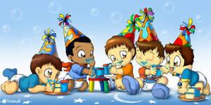 Lil Boy's Birthday by Tavi-Munk