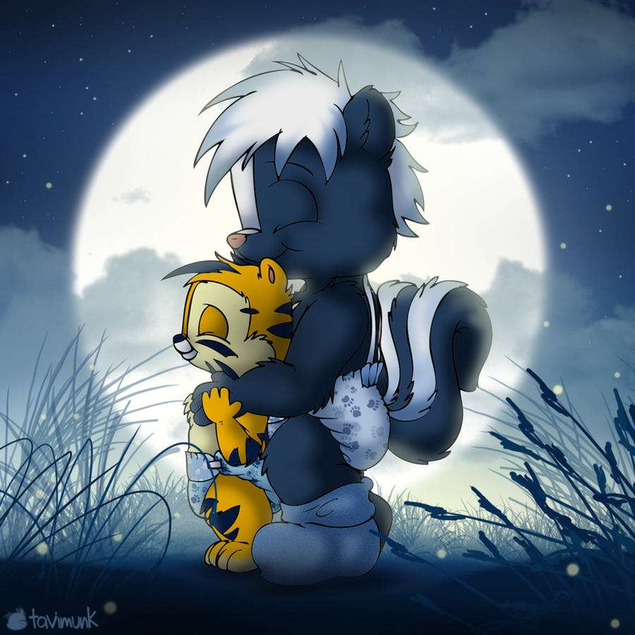 Moonlight Cuddles by Tavi-Munk