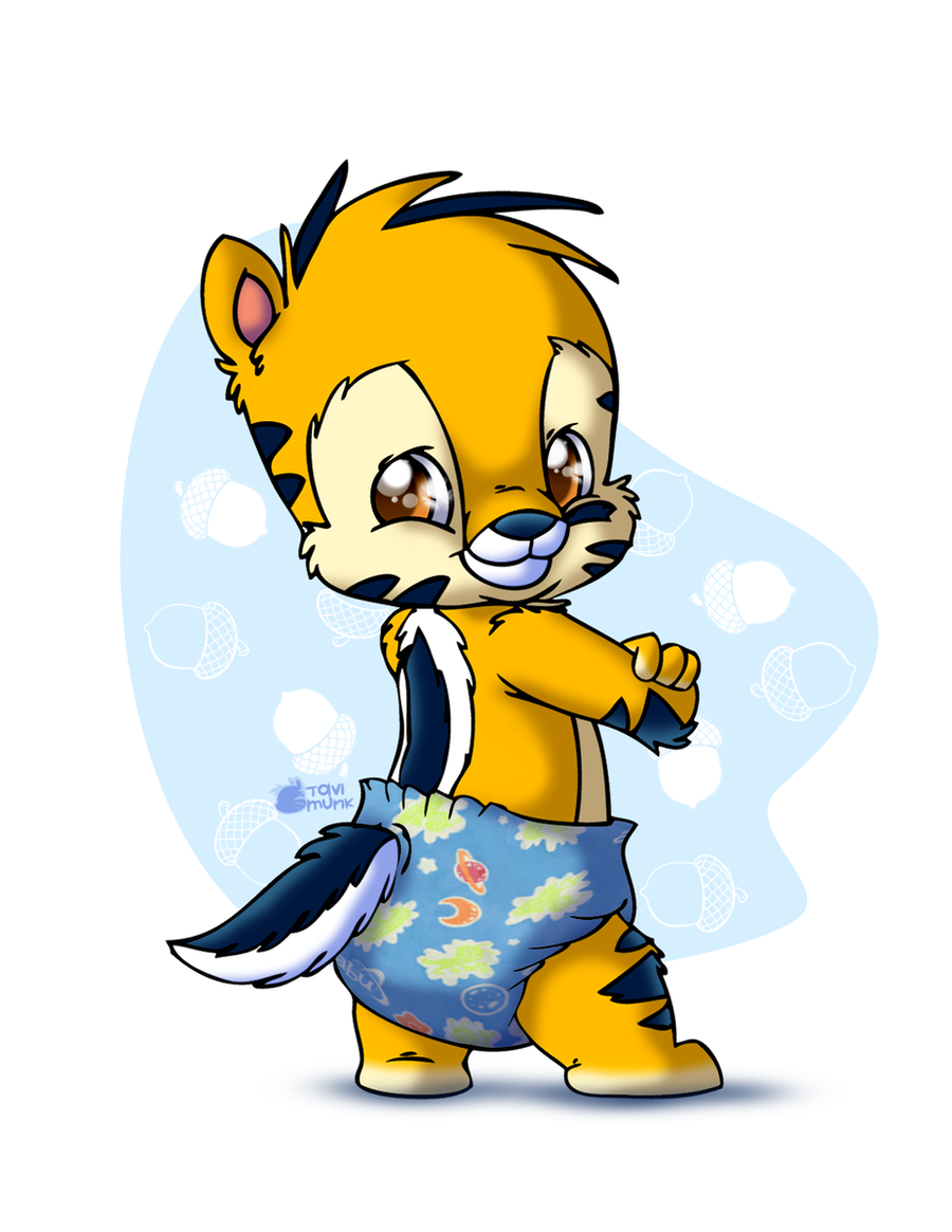in just a diaper by tavimunk on deviantart