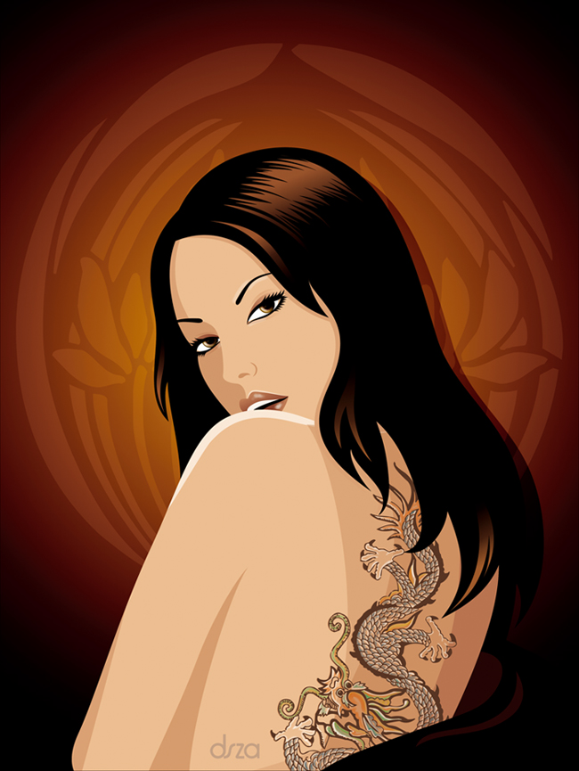 Tattooed Girl by dsza