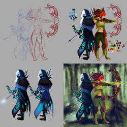 DOTA 2: Winter of the Wind (Art Process)