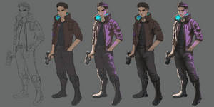 JC (Cyberpunk 2077) Process
