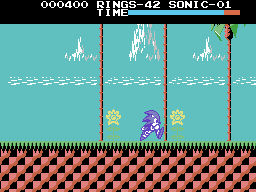 MSX/Colecovision makeover: Sonic the Hedgehog