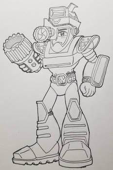 Mega Man II Flash Man