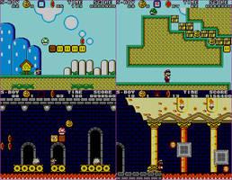 Super Mario World for SMS (Super Boy 4 hack)