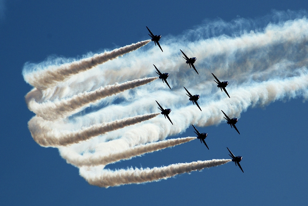 Red Arrows by vodmor
