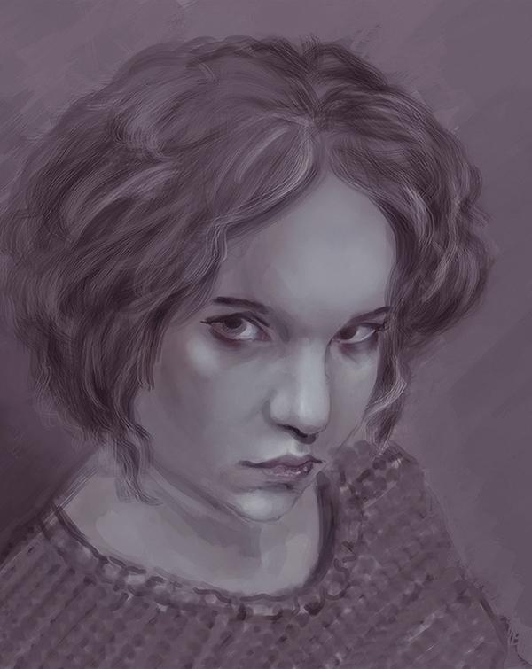 self portrait by vincha