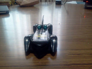 The Batmovil from the Front