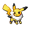 Eeveechu - Pokemon Fusion Sprite by BlackieTheCat