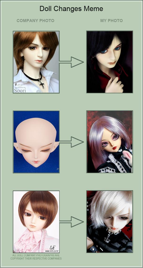 Doll Changes Meme by Aoi-kajin