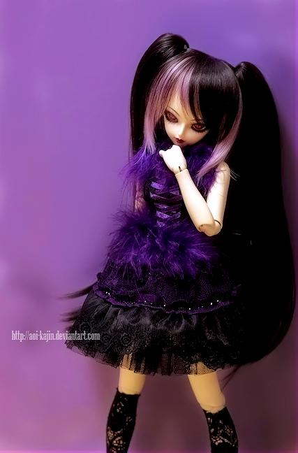 Purple Princess by Aoi-kajin
