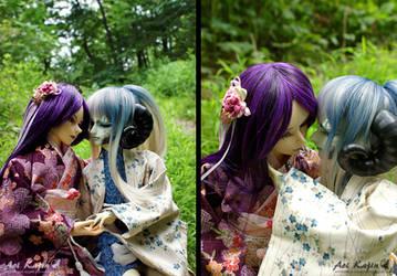 Karasu x Seimei by Aoi-kajin