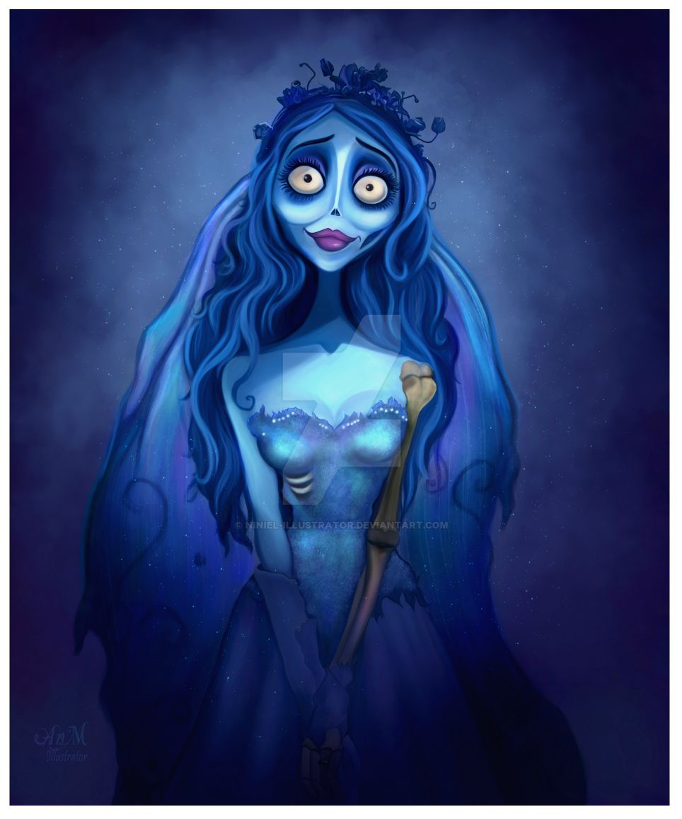 Emily The Corpse Bride by Niniel-Illustrator on DeviantArt