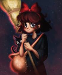 Kiki Delivery Service by Niniel-Illustrator