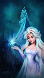 Elsa - Frozen 2 by Niniel-Illustrator