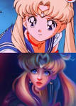 Sailor Moon RE-Draw by Niniel-Illustrator
