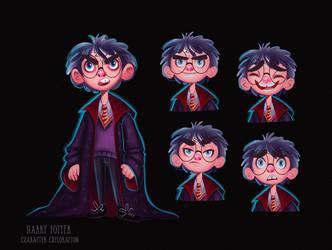 - Harry Potter - Character Exploration - Study
