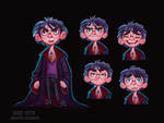 - Harry Potter - Character Exploration - Study by Niniel-23