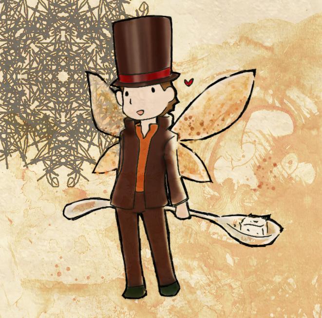 Layton the tea fairy by Gressenheller
