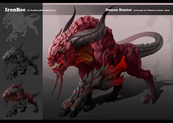 Demon Hunter Concept by IrenBee