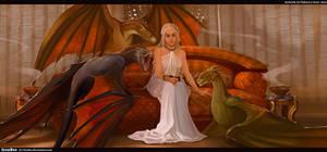 Daenerys  Targaryen by IrenBee