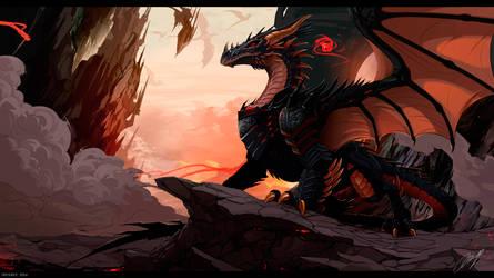 My Dragon: Heroes Eraphia - Viserion Vulom by IrenBee