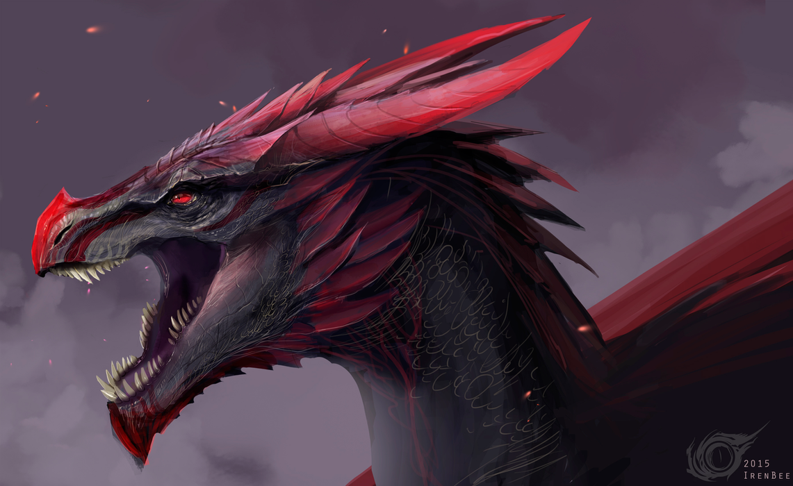 Dragon Viserion Vulom By IrenBee On DeviantArt