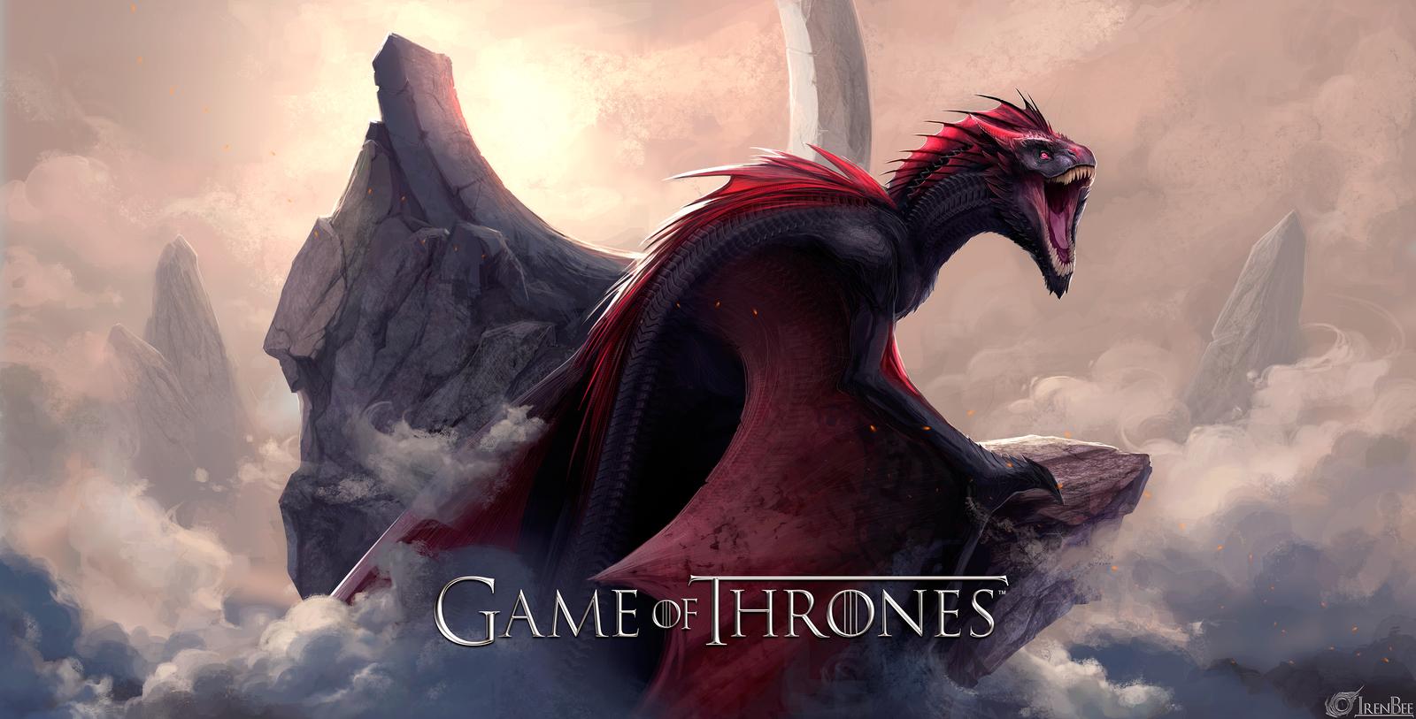 Game Of Thrones  Dragon Drogon By IrenBee On DeviantArt