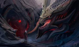 Dragon Kronu by IrenBee