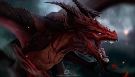 Dragon Reagan by IrenBee