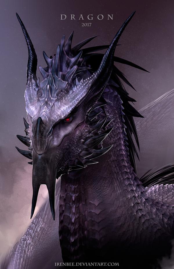 Dragon Vermitor Vulom (3D) by IrenBee