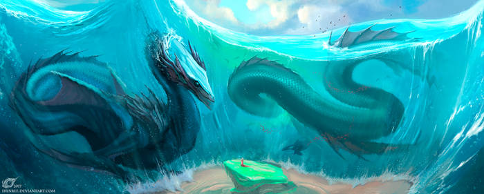 Sea Dragon by IrenBee