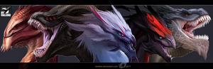 Art Challenge - Dragons