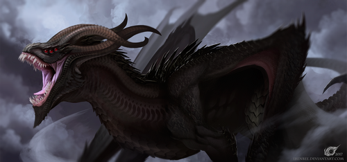Dragon Azrael by IrenBee
