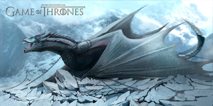Game Of Thrones Dragon Viserion Ice