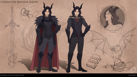 Character Rognar Raven by IrenBee