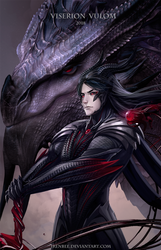 OC: Dragon Viserion Vulom (TAO) by IrenBee